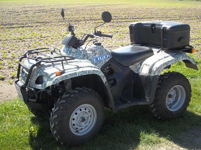 Quad Suzuki Eiger LT - A 400 ATV Wiese 2007