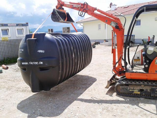Kettenbagger mit 400 Betriebsstunden