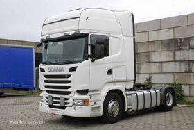 Scania R 450 E6 Topline, Kipp- und Schubbodenhydraulik