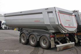 Schwarzmueller SK, 3-Achs Mulde Hardox 28 cbm, Plane, Liftachse
