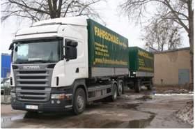 Scania R420 Incl. Hänger