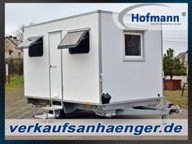 Hofmann Mobile Sanitätsstation Anhänger 1100kgGG Bauwagen