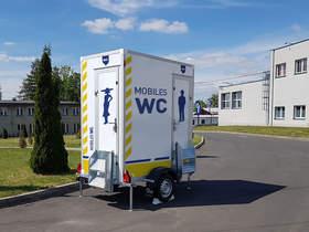 Hofmann Toilettenanhänger 750kgGG 110x110x210cm