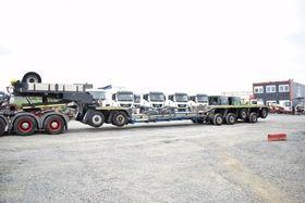 SCHEUERLE NICOLAS / Scheuerle 5+2 Tiefbett LOAD 110 ton