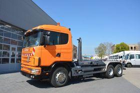 Scania 124 G 400 6x2 Retarder Meiller RK 19.65 S