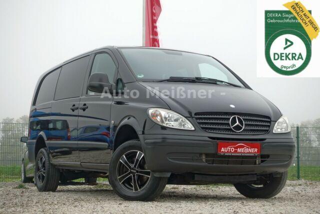 MERCEDES-BENZ Vito 115 CDI Mixto 4x4 - Sitzheizung - Klima -