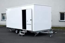 Hofmann Bauwagen Anhänger 2000kgGG Mobiler Sanitätsraum