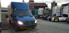 Mercedes-Benz Sprinter 316 mit Ladebordwand