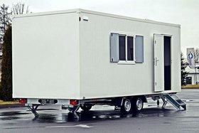 Hofmann Bauwagen Anhänger 2000kgGG Mobiles Sanitätsbüro