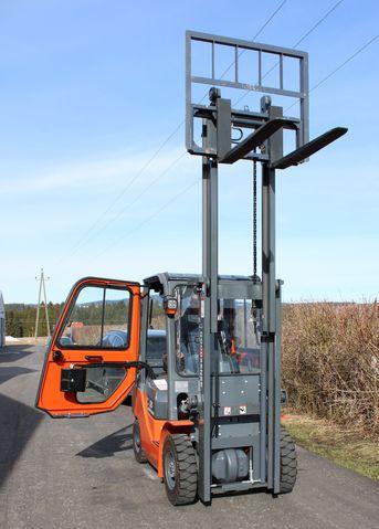 Goodsense Diesel Gabel Stapler 2,5t, 3m, Kabine