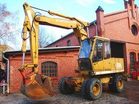 FIAT Allis FE12 Mobilbagger excavator 13t Hammerhydrl