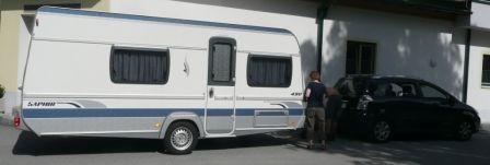 Wohnwagen Fendt Saphir 490 TKM