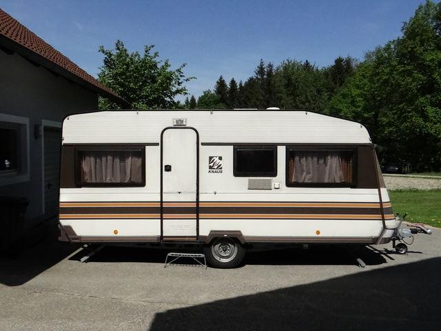 Wohnwagen Knaus Azur 485 TU