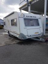 Knaus Südwind 550 TK Mover, Vorzelt, Stockbetten