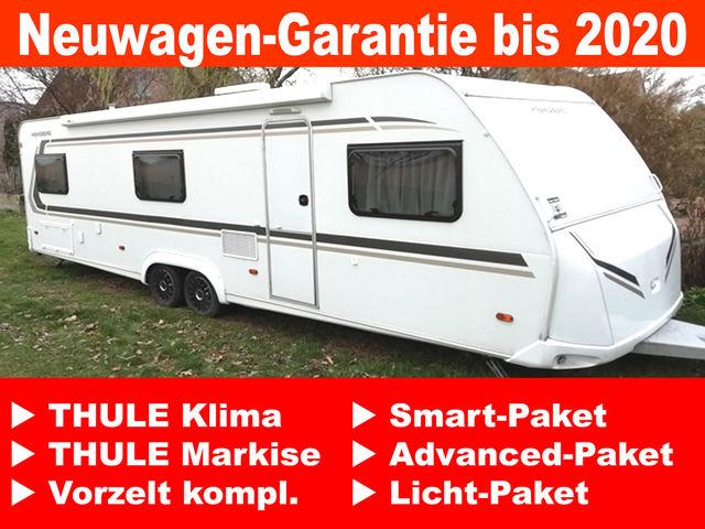 WEINSBERG CaraOne 740 UDF KLIMA SAT Markise NW-Garantie bis 2020