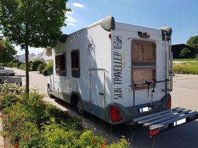 Fiat Knaus Sun-Traveller m. Raumklima, 4er-Radständer